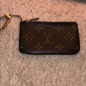 100%  authentic Louis Vuitton key pouch